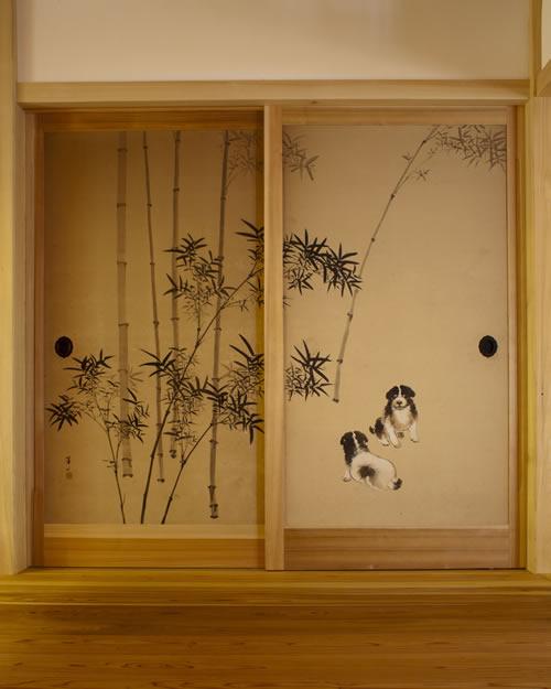 龍蔵寺様-襖